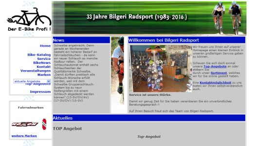 Bilgeri Radsport Bad König