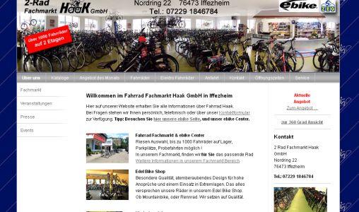 Fahrrad Haak Iffezheim