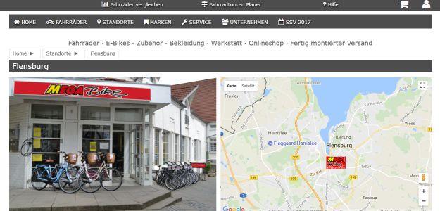 mega bike flensburg fahrradladen flensburg. Black Bedroom Furniture Sets. Home Design Ideas
