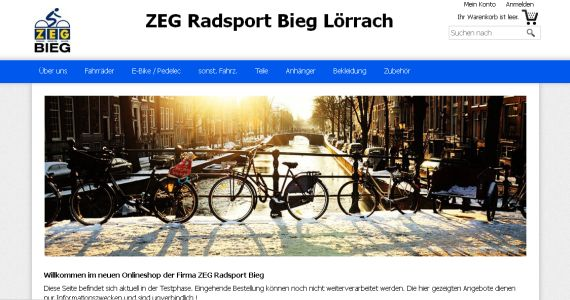 Radsport Bieg Lörrach