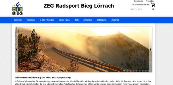 Radsport Andreas Bieg Lörrach