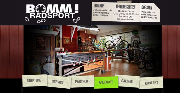 fahrradladen oberhausen fahrradgesch ft fahrradwerkstatt fahrradshop. Black Bedroom Furniture Sets. Home Design Ideas