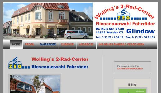 Wollings 2Rad Center Werder (Havel)