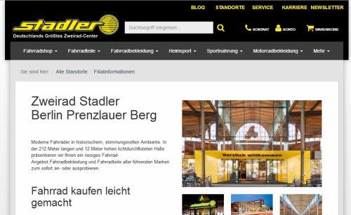 zweirad center stadler gmbh fahrradladen berlin. Black Bedroom Furniture Sets. Home Design Ideas