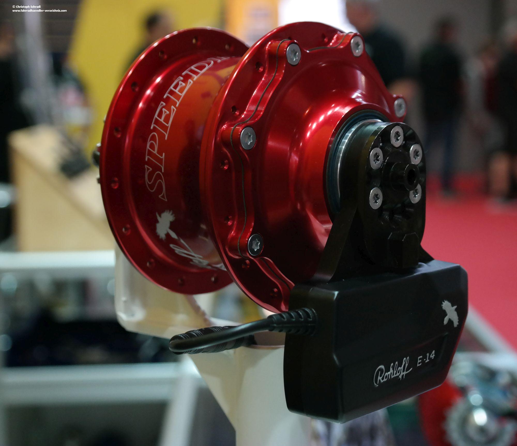 Rohloff E-14 - Rohloff für 2018 als elektrische Version erhältlich
