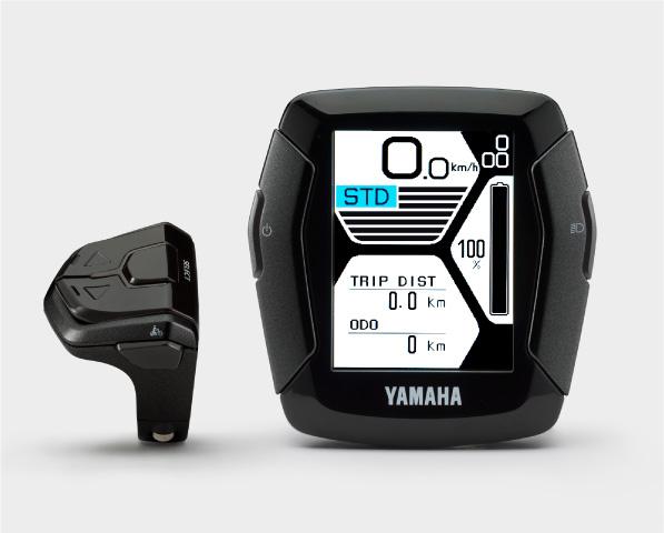 yamaha e bike 2019 zwei neue displays schiebehilfe. Black Bedroom Furniture Sets. Home Design Ideas