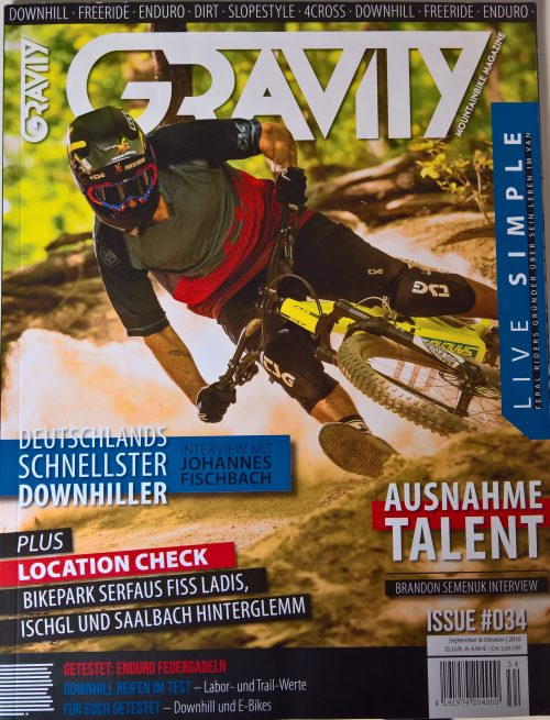die mountainbike zeitschrift gravity vorgestellt review kritik. Black Bedroom Furniture Sets. Home Design Ideas