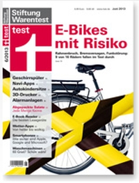 stiftung warentest test fahrrad zeitschriften fahrrad. Black Bedroom Furniture Sets. Home Design Ideas